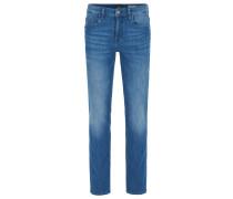 Slim-Fit Jeans aus spanischem Stretch-Denim