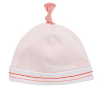 Baby-Mütze aus Baumwolle mit umgeschlagenem Saum