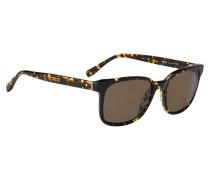 Sonnenbrille mit Havanna-Muster