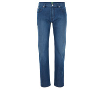 Regular-Fit Jeans aus komfortablem Stretch-Denim