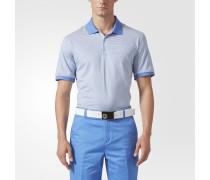 adipure Heather Stripe Poloshirt