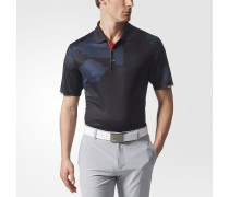 Climachill Herringbone Camo Poloshirt