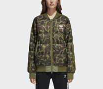 Pharrell Williams Hu Hiking Camo SST Jacke