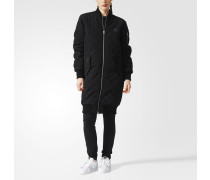 Long Quilted Bomberjacke