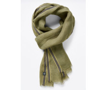 Scarf, woven, light linen, colored