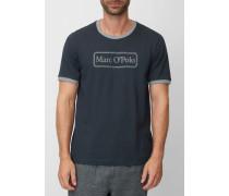 Marc O'Polo Lounge-Shirt nachtblau