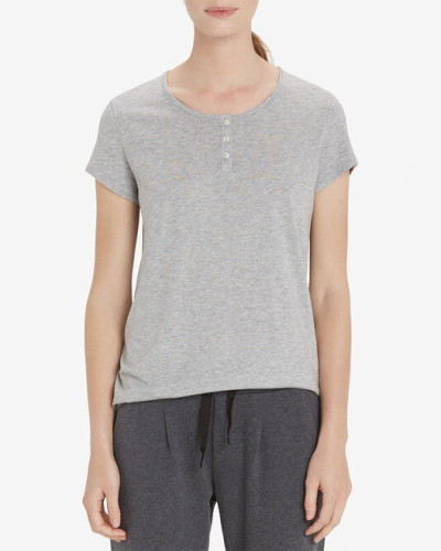 Marc O'Polo Lounge-Shirt grau-mel.