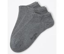 Sneaker-Socke - 3er-Pack