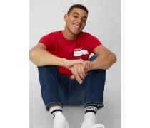 Marc O'Polo T-Shirt  brick red