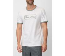 Marc O'Polo Lounge-Shirt weiss