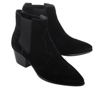 Ankle Boot aus Wildleder  // Holly Black