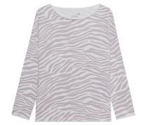 Gemustertes Oversize-Sweatshirt