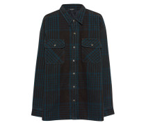 Flanell-Hemd  // Flannel Petrol