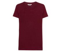 T-Shirt aus Leinen  // Kilian Burgundy