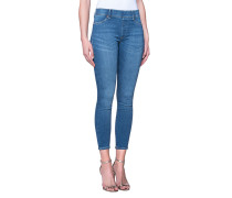 Enge Jeggings mit elastischem Bund  // Jegging Blue Denim
