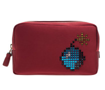 Bomb Make-Up Pouch Red