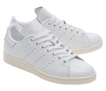 Leder-Sneaker  // Stan Smith Cracked White