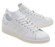 Leder-Sneaker  // Stan Smith Cracked White
