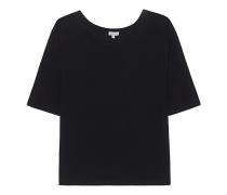 Lockeres Jersey-T-Shirt  // Very Light Jersey Boxy Tee Black