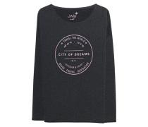 Sweatshirt mit Flockprint  // City Of Dreams Anthra