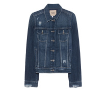 Jeansjacke im Destroyed-Look  // Rowan Blue