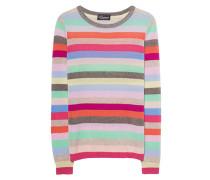 Gestreifter Kaschmir-Pullover  // Stripes Multicolor