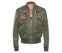 Bomberjacke mit Patches  // Bomber Patch Army