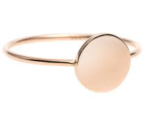 14 Karat Roségold-Ring  // Full Circle Rose Gold
