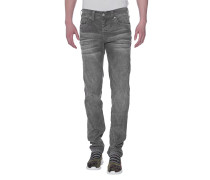 Slim-Fit-Kordsamt-Jeans  // Rocco No Flap DI Grey