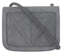 Veloursleder Crossbody-Bag  // Coachella V Grey