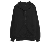 Wendbarer Zipper-Hoodie  // Reversible Black