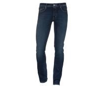 Straight-Leg Jeans mit Einstecktuch