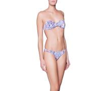 Gemusterter Triangel-Bikini  // Martinique Feathers Multicolor