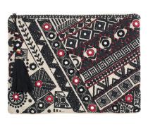 Dara Mirror Purse Ivory Faded Black