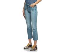 High-Waist Flared-Leg Jeans
