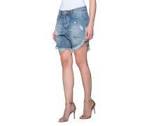 Shorts mit ausgefransten Säumen  // Blue Buoy Frankies Blue