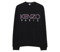 Sweater mit Logo-Print  // Kenzo Camo Black