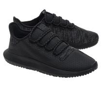 Leder-Mesh-Sneakers  // Tubular Shadow Black
