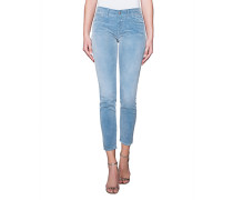 Schmal geschnittene Cord-Jeans  // Baker Cord Blue Shadow