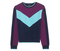 Sweatshirt in Colour-Blocking-Design  // Colorblock Ponte Multi