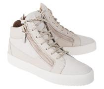 High-Top Sneaker aus Veloursleder