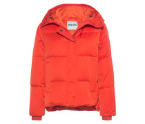 Kurze Daunen-Jacke  // Down Orange