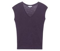 Leinen T-Shirt  // Simza Aubergine