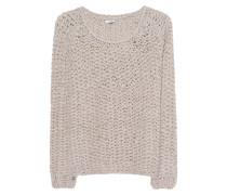 Alpaka-Merino-Grobstrick-Pullover  // Lou Sand