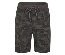 Sweat-Shorts im Camouflage-Design