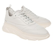 Plateau Leder-Sneaker