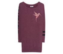 Langes Oversize-Sweatshirt  // Bel Sangria