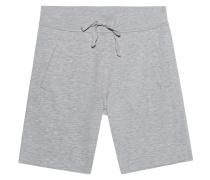 Melierte Sweat-Shorts  // Shorts Long Grey Melange
