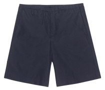 Mittellange Baumwoll-Shorts  // Ari Pop Navy