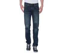 Slim-Fit Jeans im Vintage Look  // Rocco Red Selvage